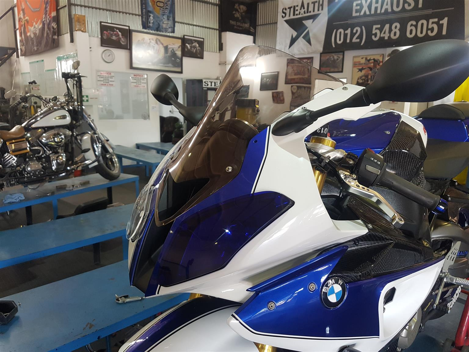 War Eagle Racing Motorcycle Screens and Fairings BMW S1000RR 2012 D/B Screen