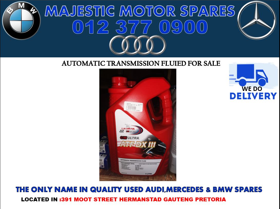 mercedes new automatic transmission fluid for sale