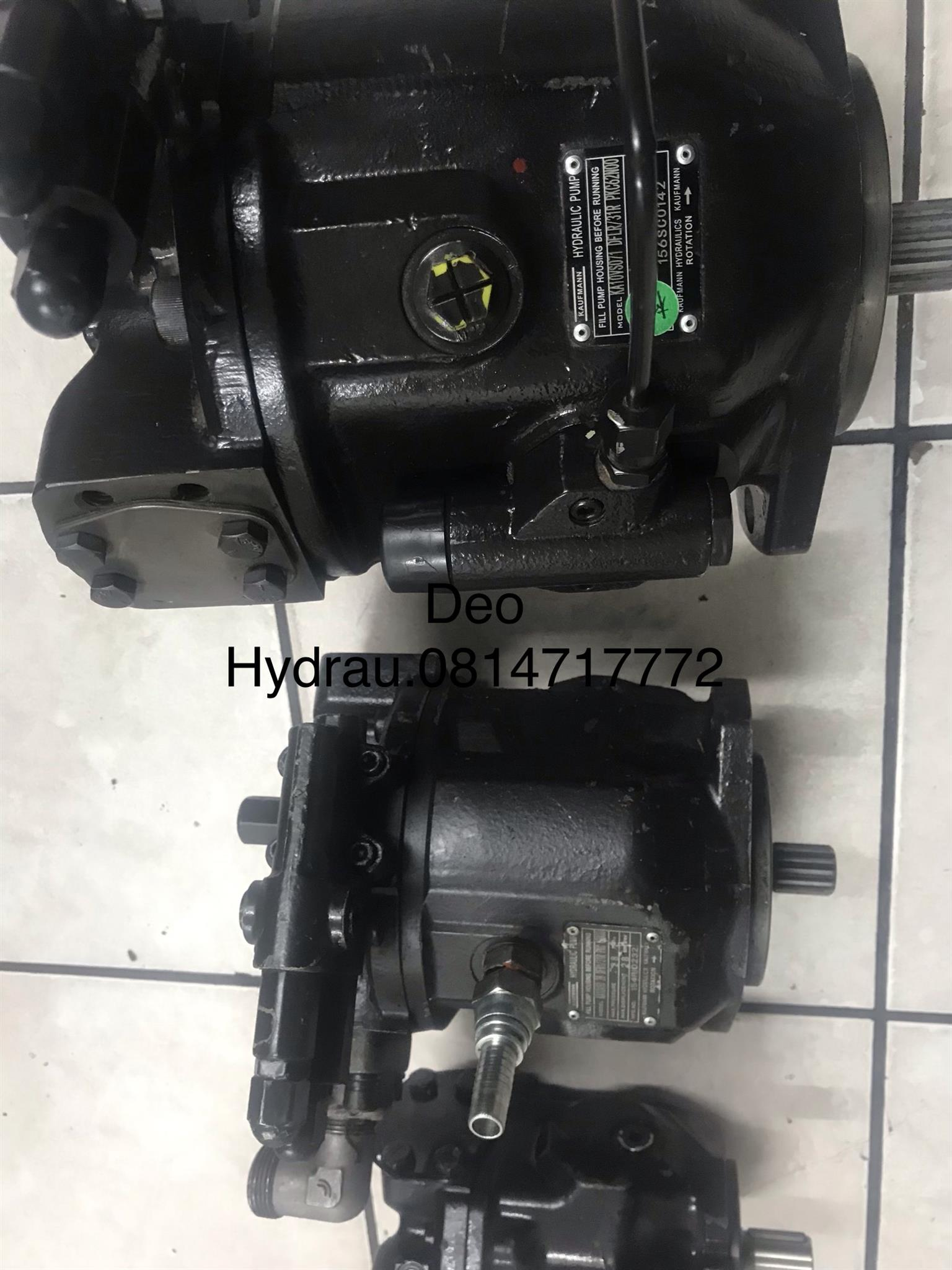 TLB VARIABLE HYDRAULIC PUMPS