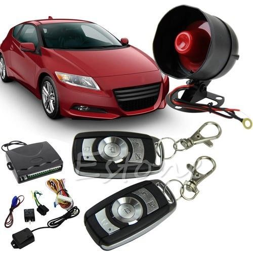 1-WAY VEHICLE CAR ALARM SECURITY PROTECTION KEYLESS ENTRY SYSTEM WITH 2 REMOTES