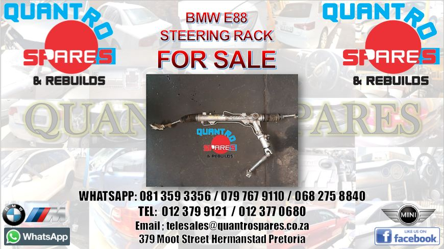 bmw e88 steering rack for sale