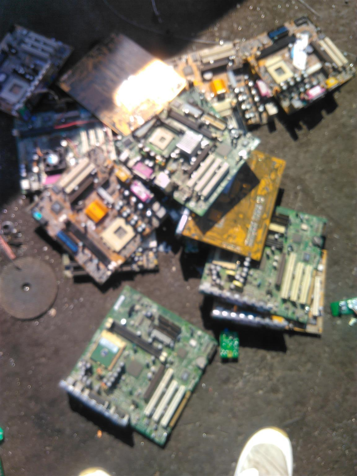 We buy and recycle all scrapped electronics components for cash, call us today.