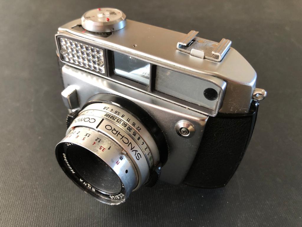 Baldamatic I 35mm Vintage Rangefinder film camera - Synchro Compur