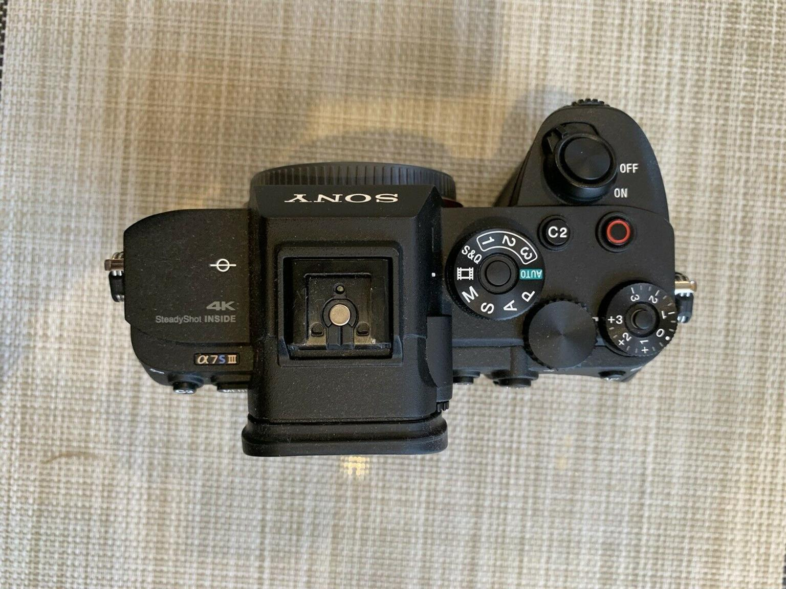 Clean Sony Alpha 7s iii with 3422 shutter
