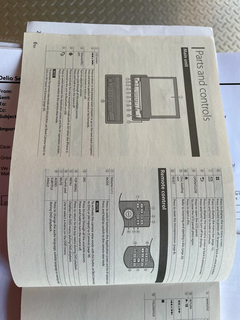 Car Multimedia Player - Pioneer