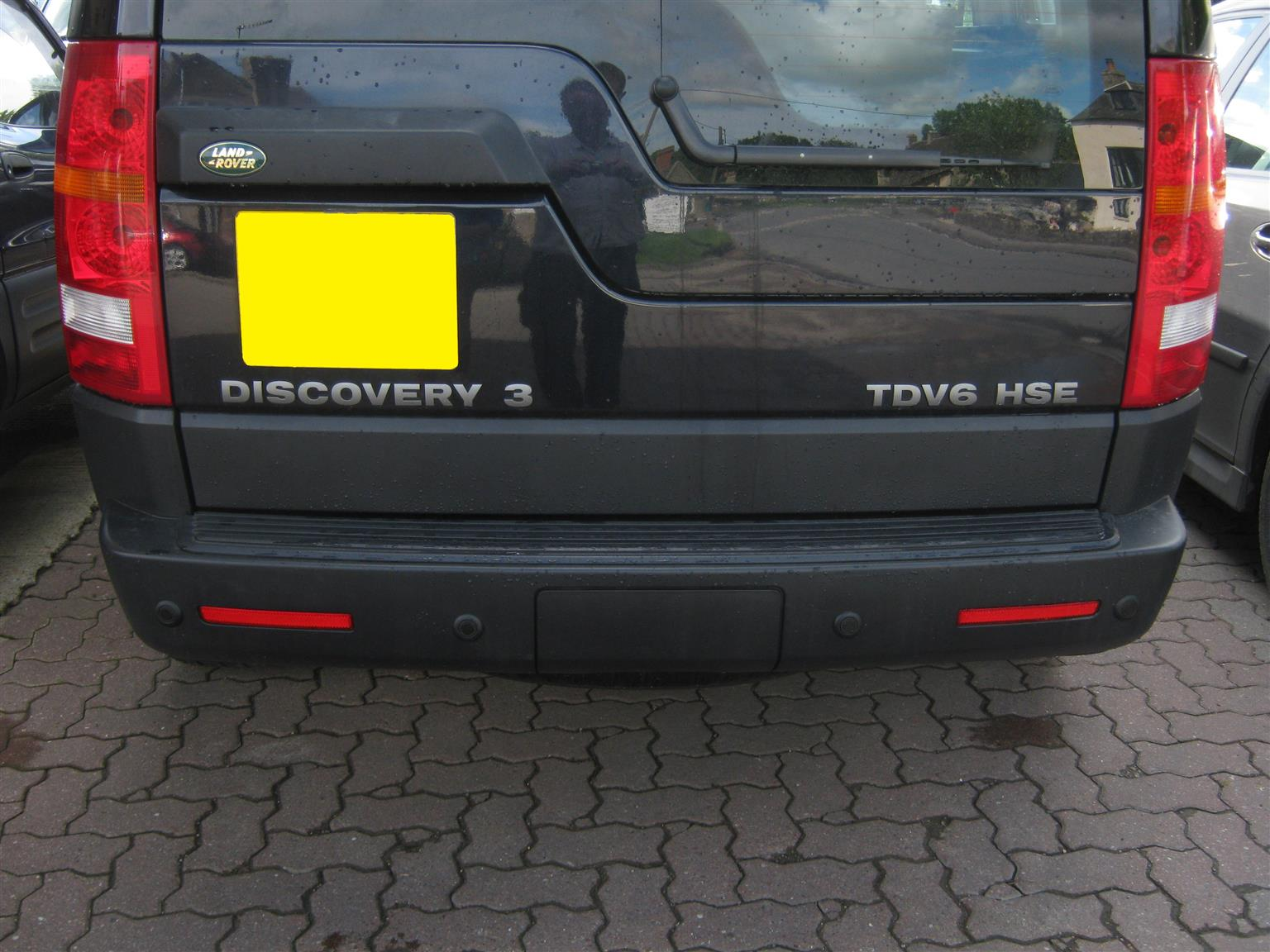 Land Rover Discovery 3 Rear Bumper