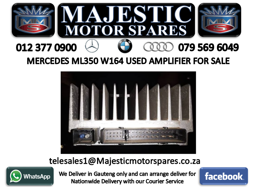 MERCEDES ML350 W164 USED AMPLIFIER FOR SALE