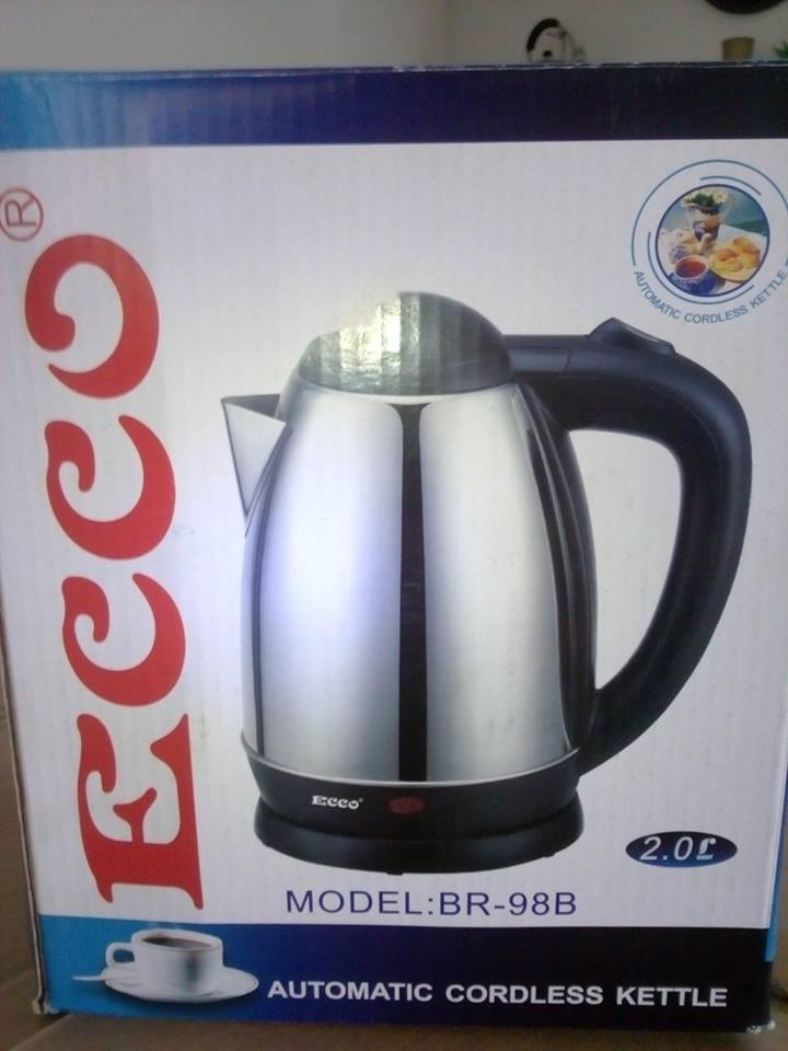 Ecco cordless kettle for sale