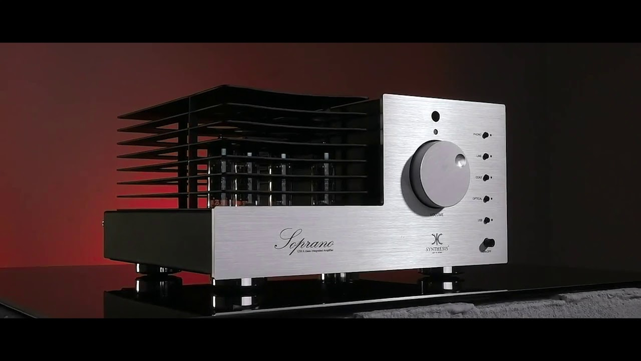 SYNTHESIS SOPRANO STEREO TUBE INTEGRATED AMPLIFIER