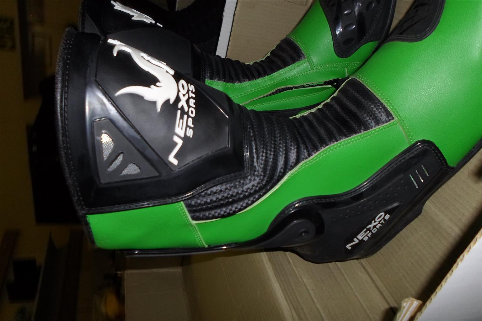 Size 47/13 Nexo Sports Motorcycle Boots
