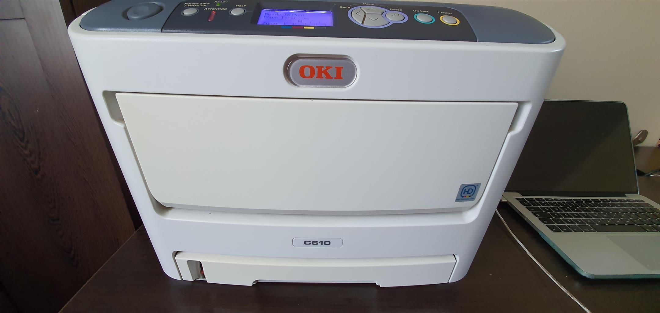 OKI610 LASERPRINTER FOR SALE!