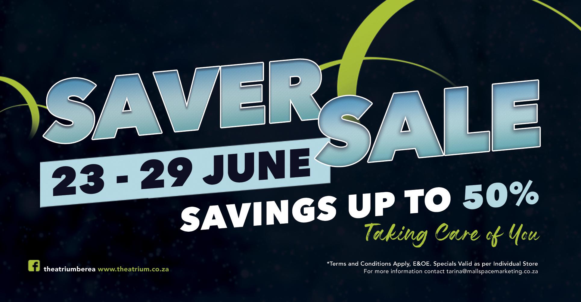 The Atrium Saver Specials Catalog and Side Walk Sale