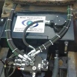 Complete hydraulics system installation maintenance and repairs call me on 0817054782