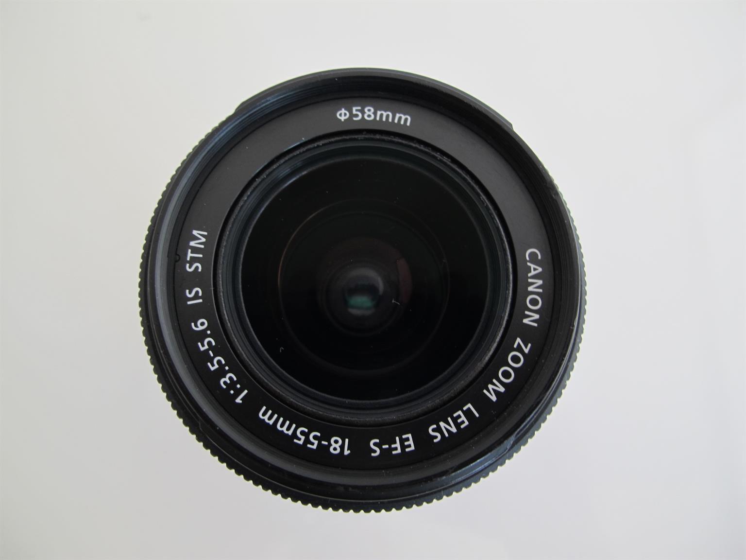 Canon EF-S 18-55 mm f 4 -5.6 IS STM Lens