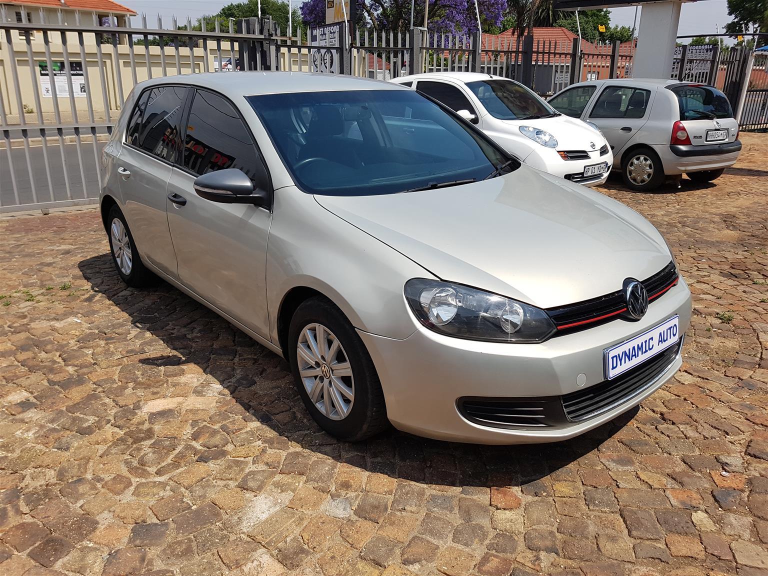 2010 VW Golf 1.6 Trendline