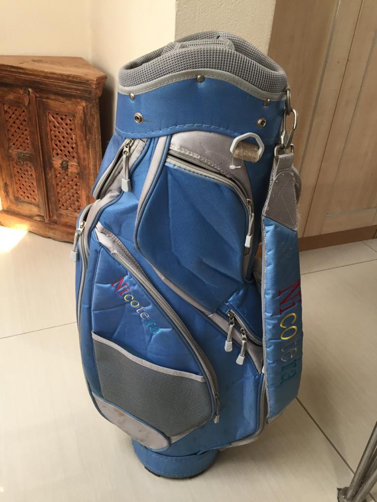 Nicotera Golf cart bag with shoulder strap