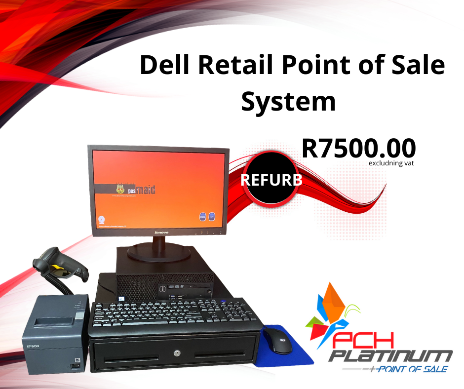 Dell Retail i3 Point of Sale System