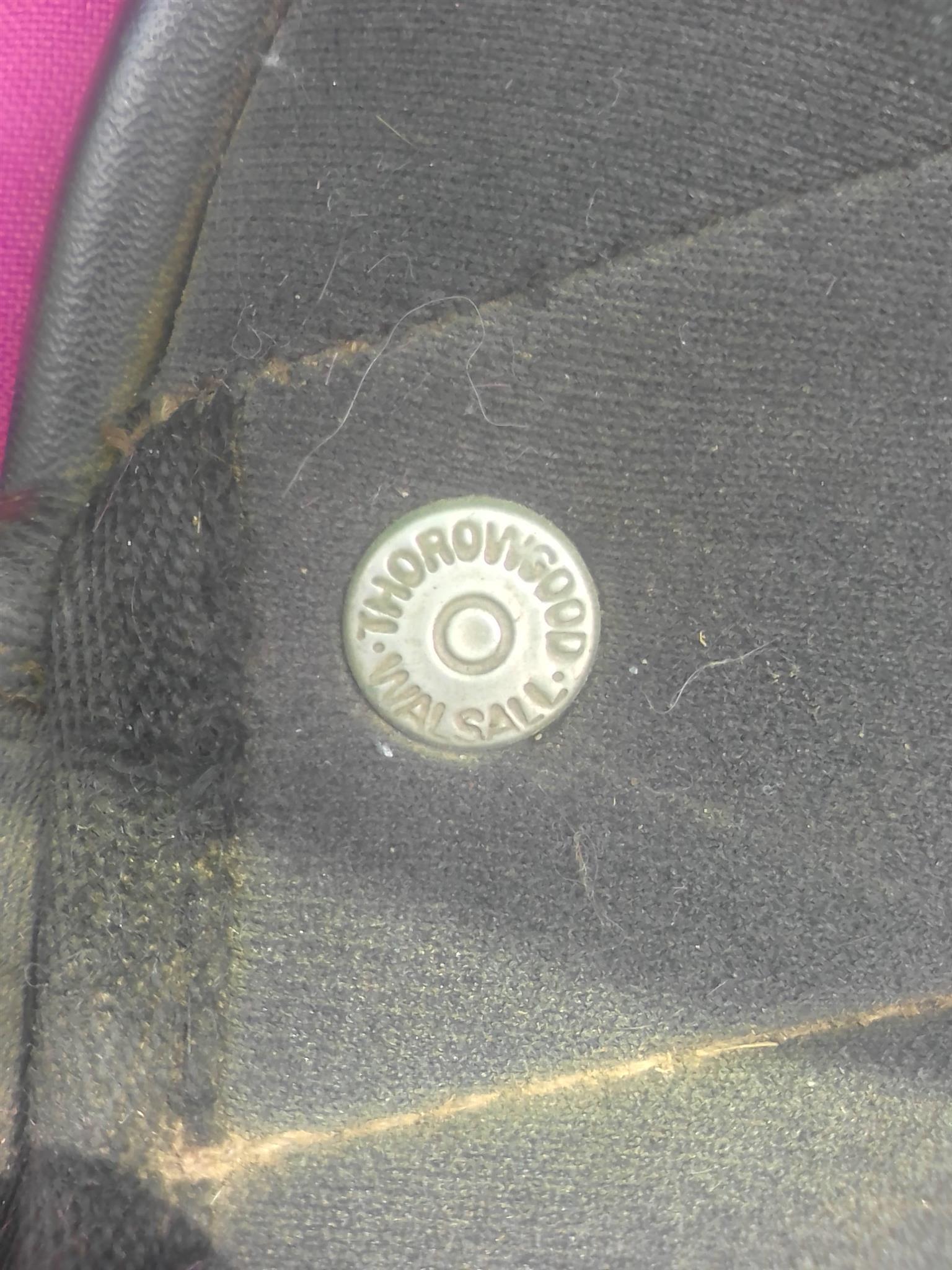 """17"""" Thorowgood Saddle"""