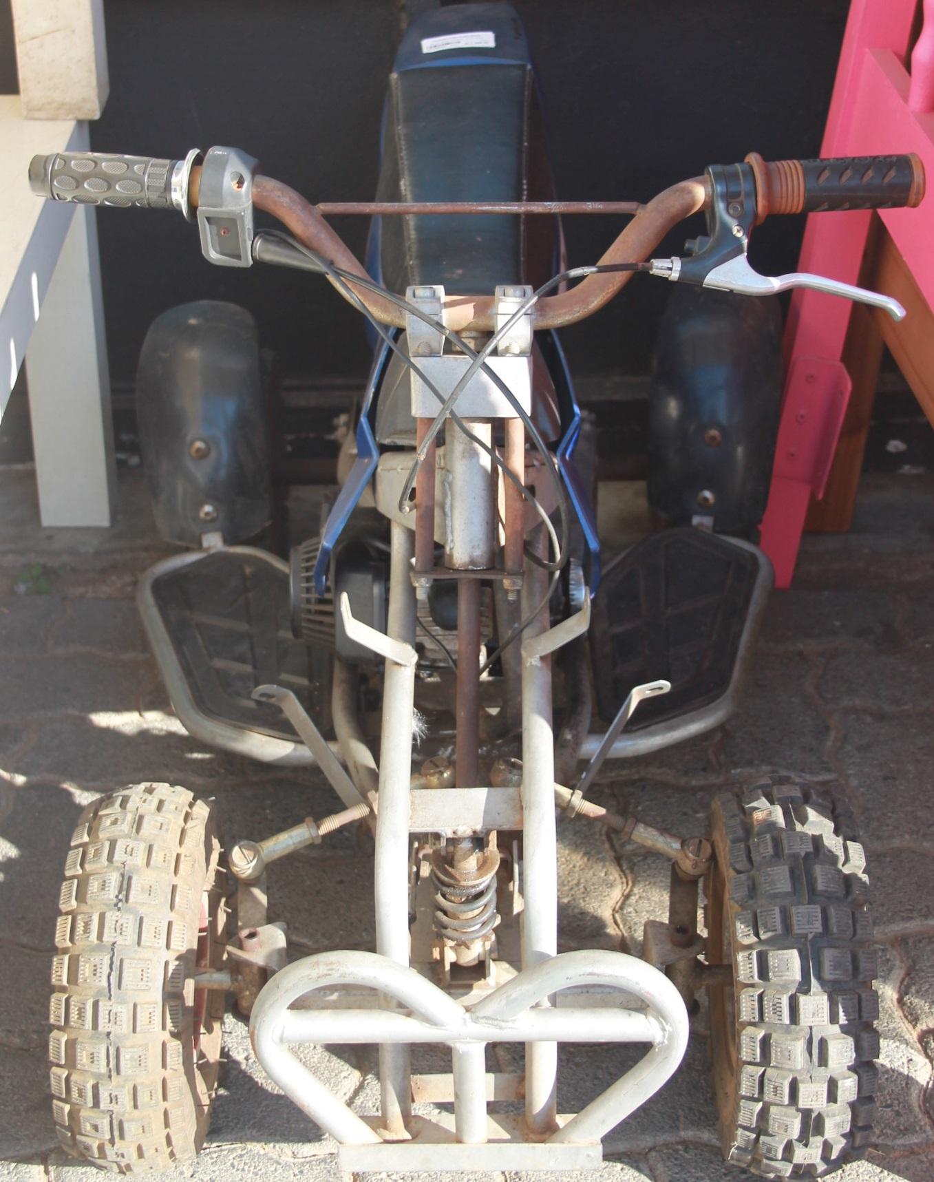 S035549A Blue 49cc petrol quad bike #Rosettenvillepawnshop