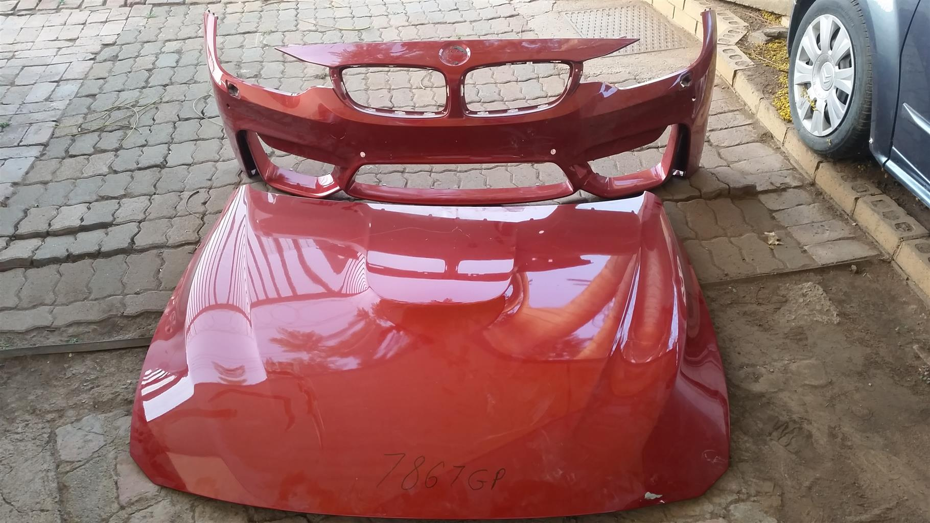 Bmw M4 front bumper cover only