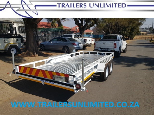 DOUBLE AXLE CAR TRAILERS PRICED FROM R32 900.00 5000 x 2100 x 200
