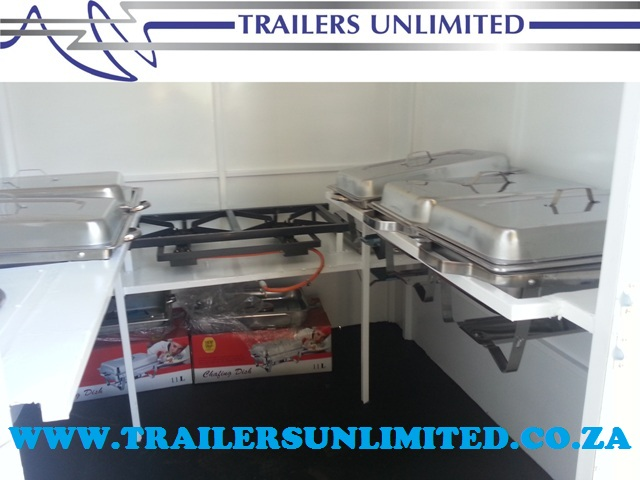 TRAILERS UNLIMITED. 4000 X 1800 X 2000 ECONOMIC CATERING TRAILERS. R36 100. EXCL.