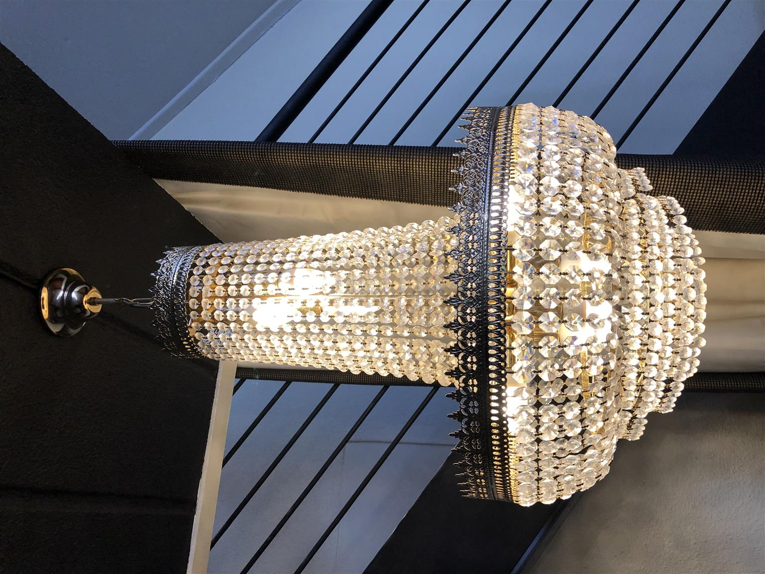 Crystal Italian Chandelier discounted by 30%