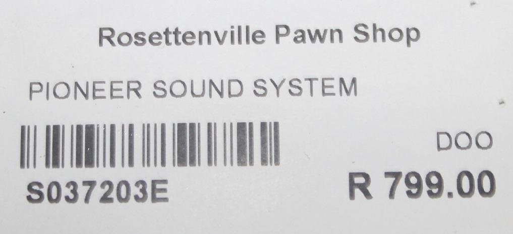 Pioneer sound system S037203E #Rosettenvillepawnshop