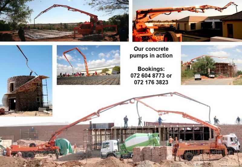E & g Concrete Pumps