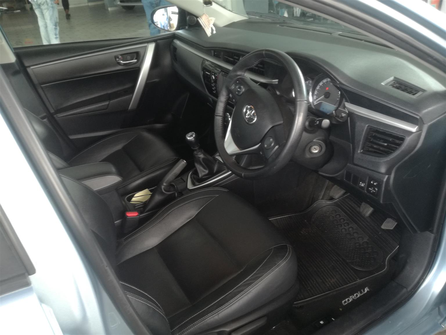 2016 Toyota Corolla 1.6 Advanced