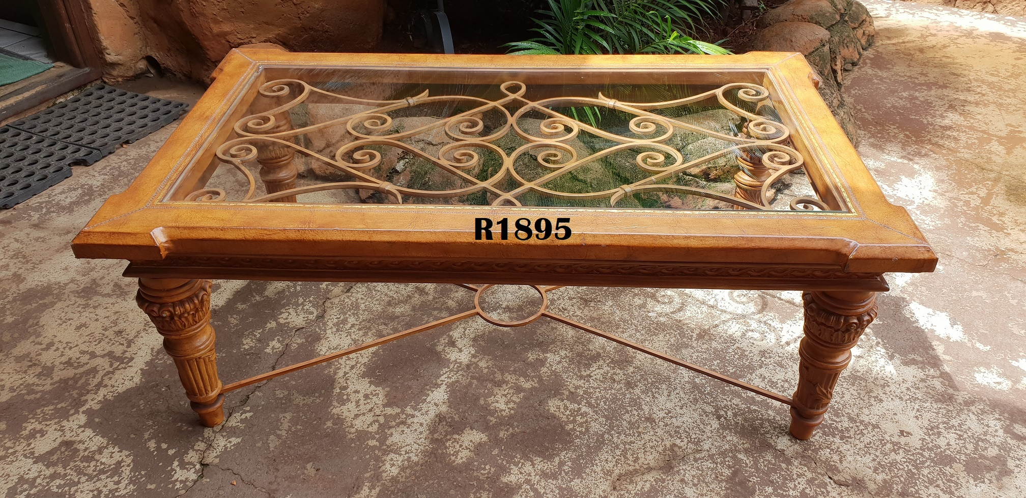 Exquisite Leather Touch Big Coffee Table (1220x710x470)
