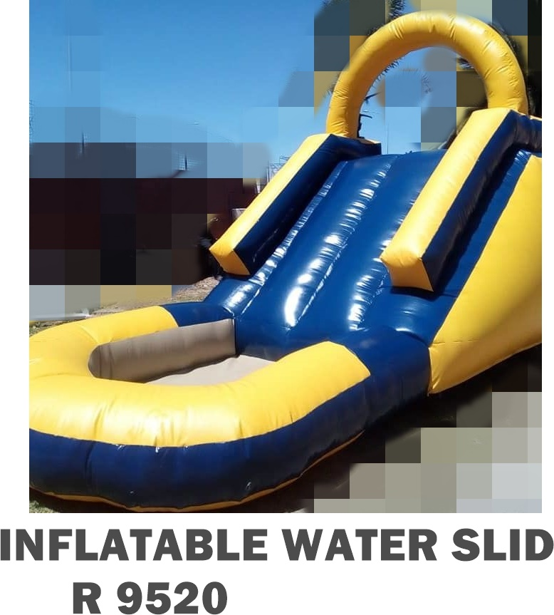 Inflatable water slide on sale
