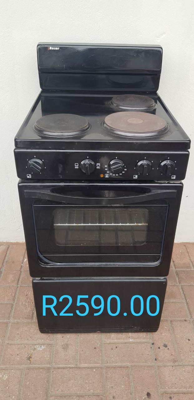 Bauer 3 Plate Oven Stove For Sale Port Edward