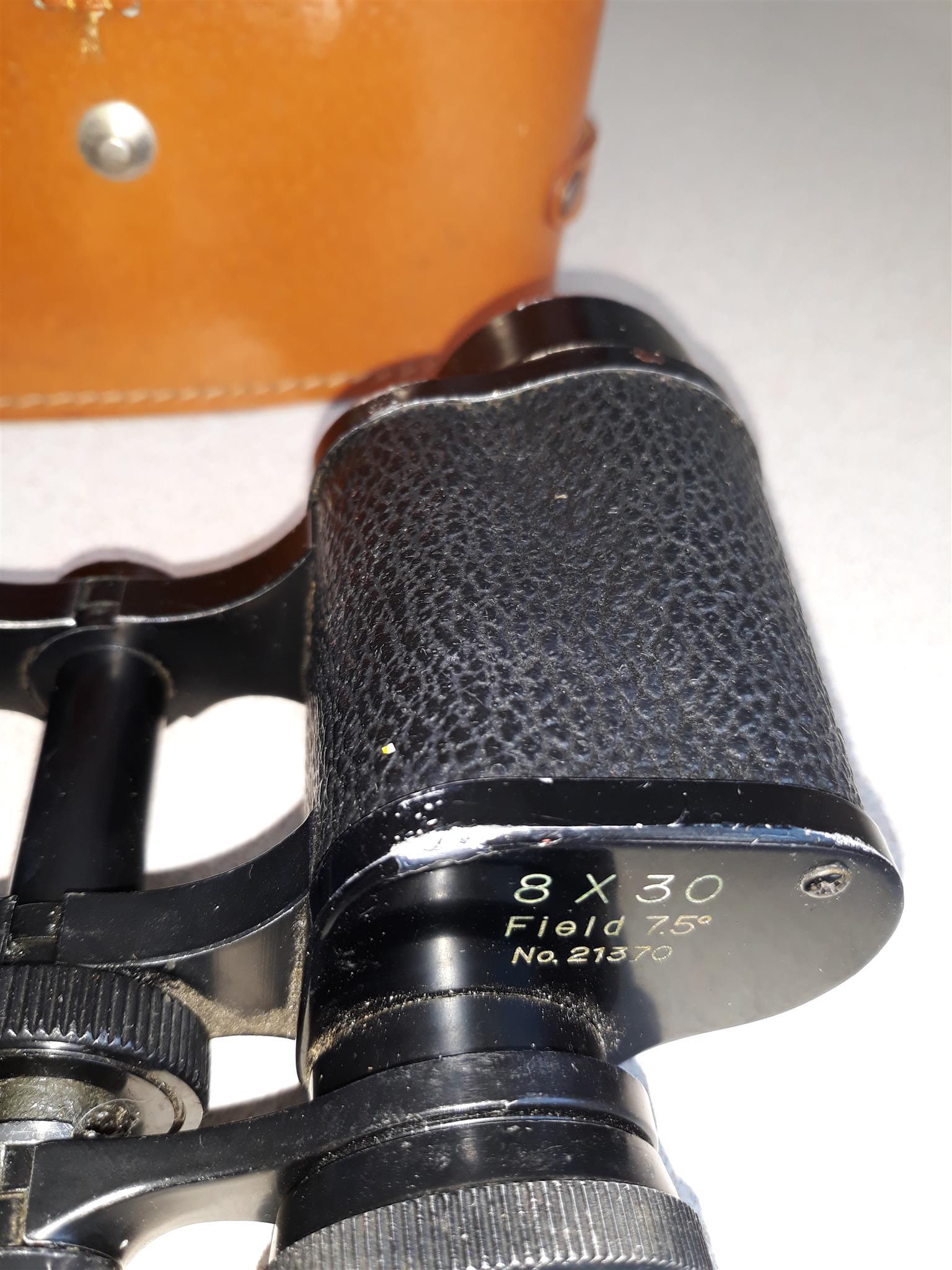 Collectors' Binoculars in Leather case