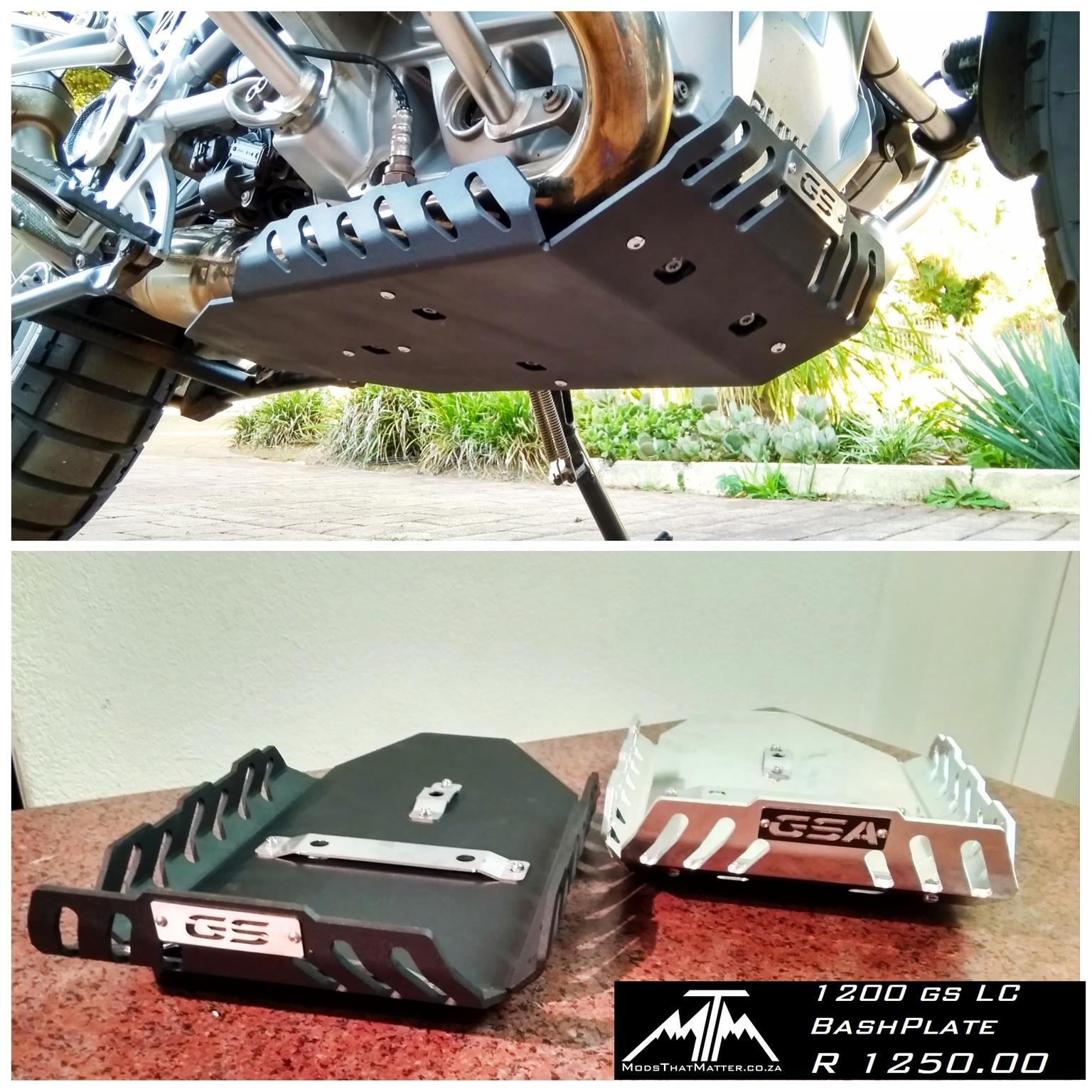 BMW F800, 1200GS Accessories