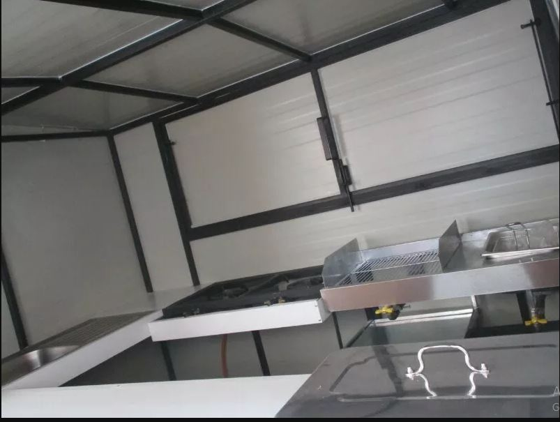 well equiped mobile kitchen trailers available