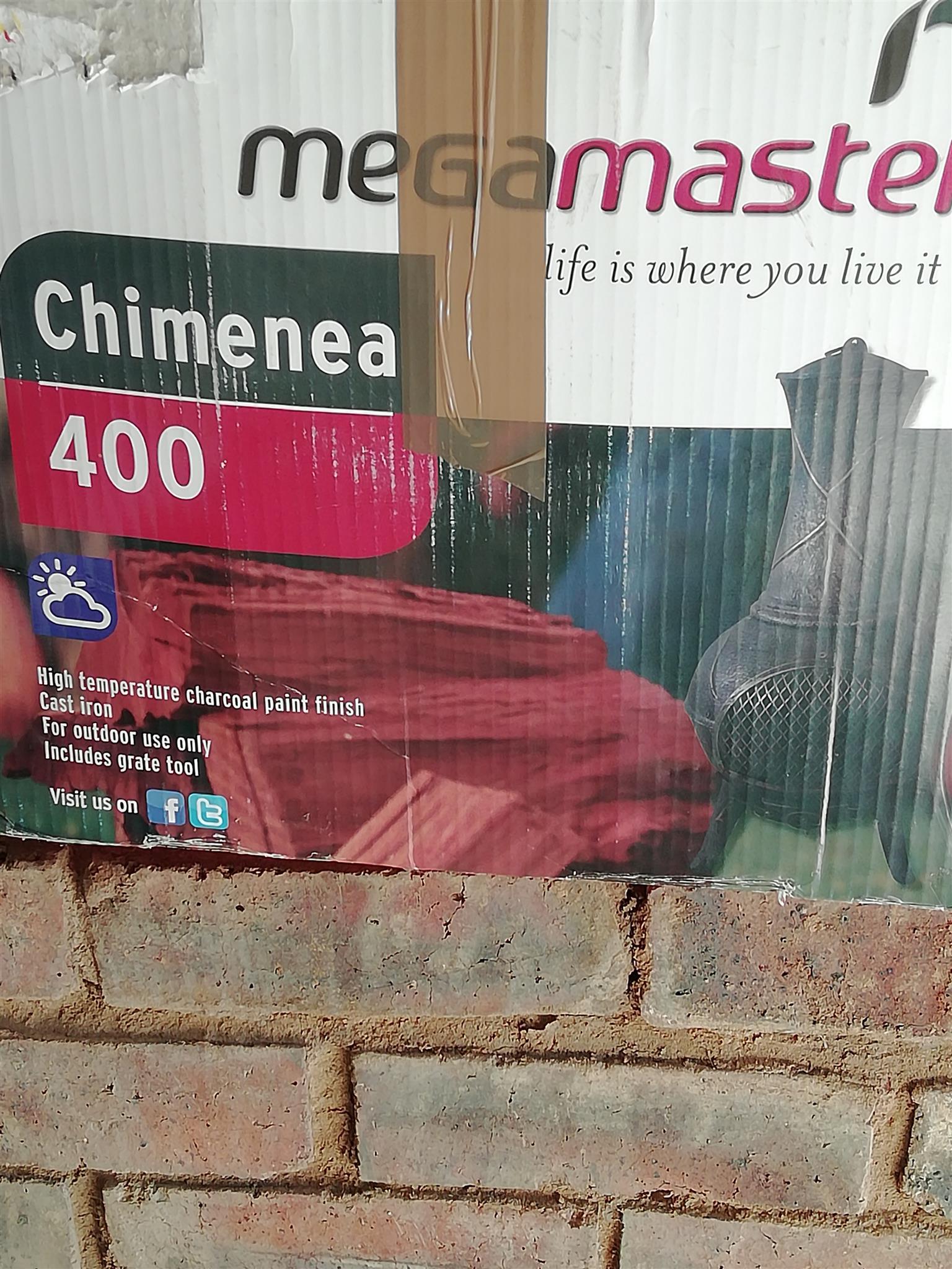 Chimenea 400 megamaster