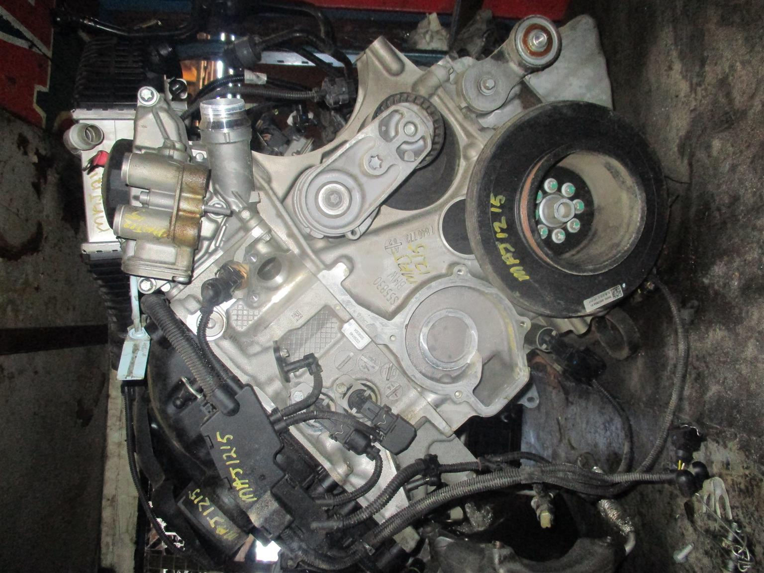 BMW F82 M4 WHITE PETROL 201 S55 USED ENGINE FOR