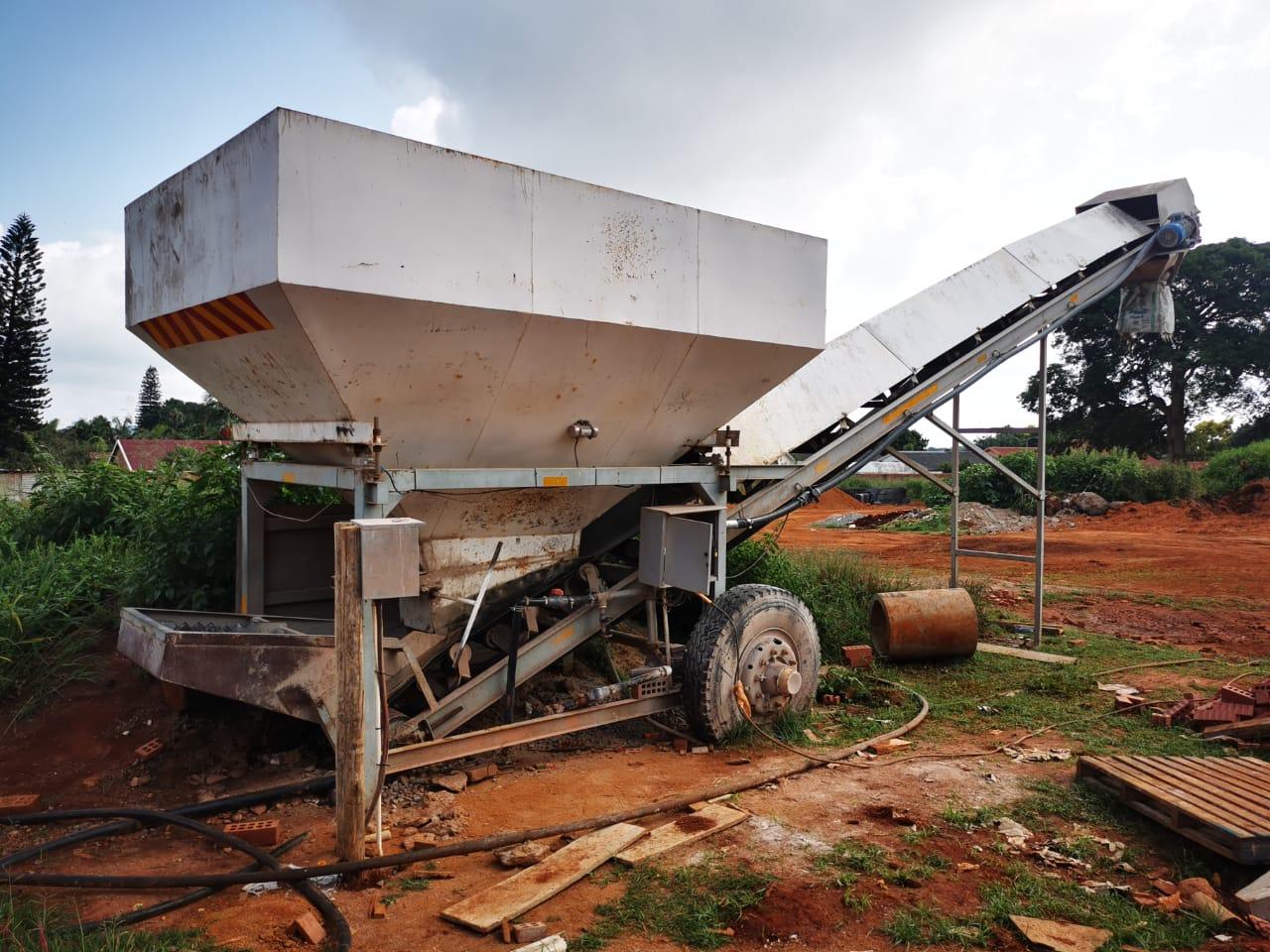 Mobile Concrete Batch Plant WITH Tata Novus concrete truck for Sale!