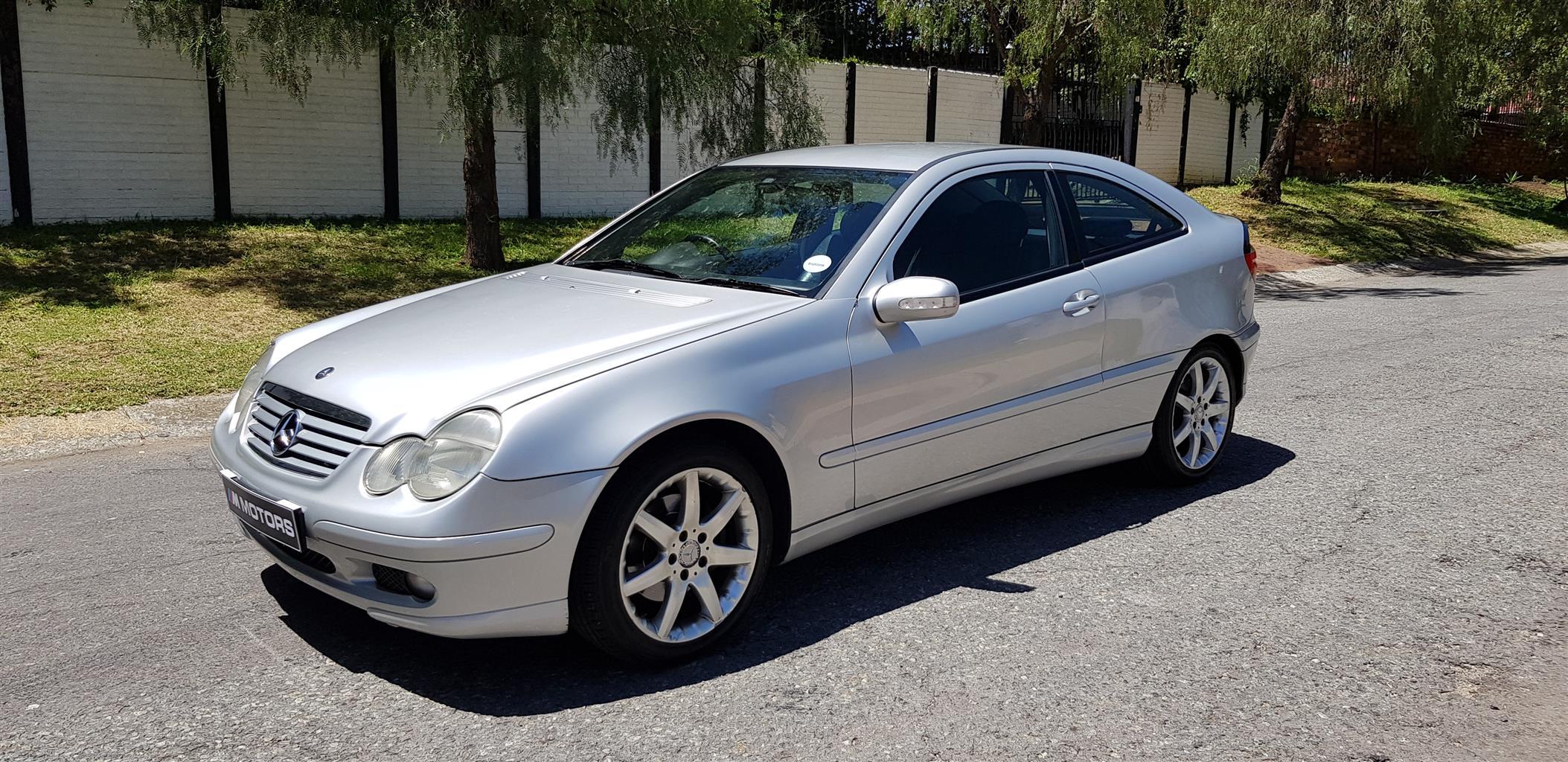 2002 Mercedes Benz C Class C230 Kompressor Sports Coupé Evolution | Junk  Mail