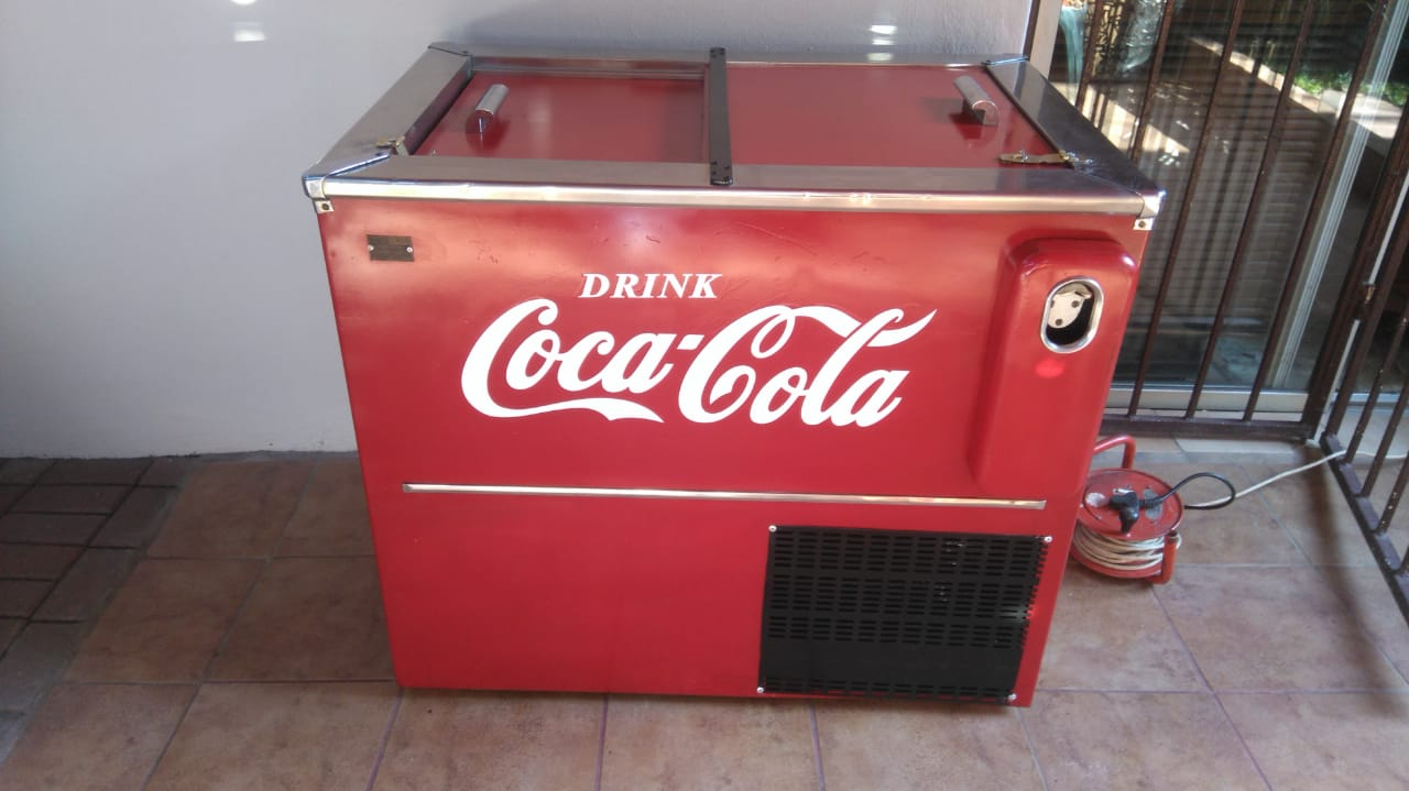 Vintage Coca-Cola fridge
