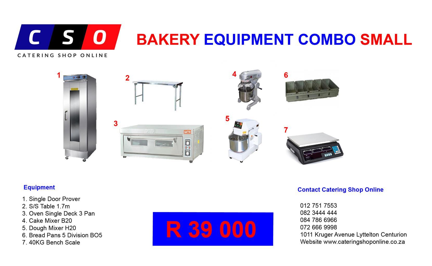 Bakery Equipment  Combo Sale