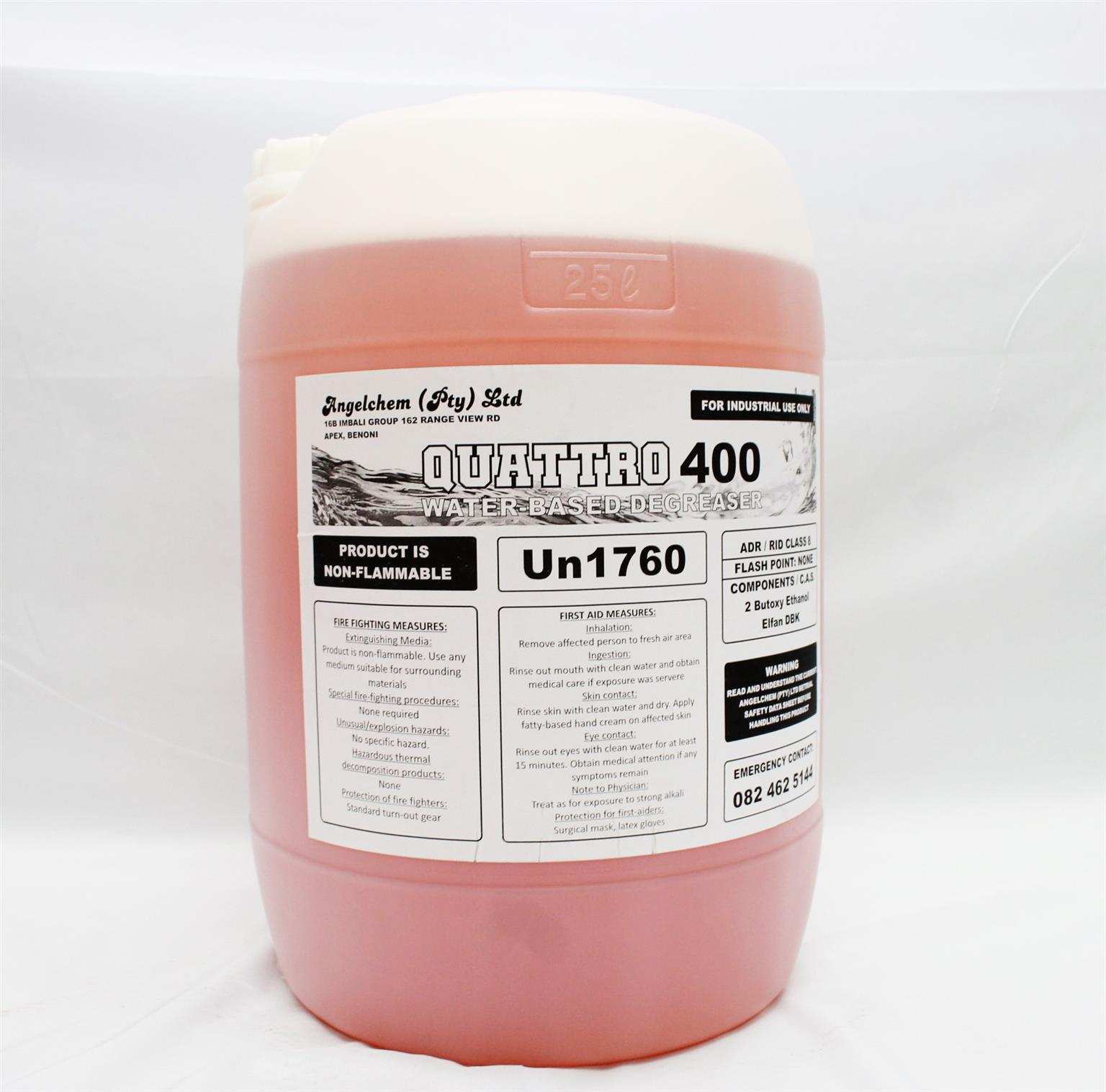 Quattro 400 Water based degreaser 25L