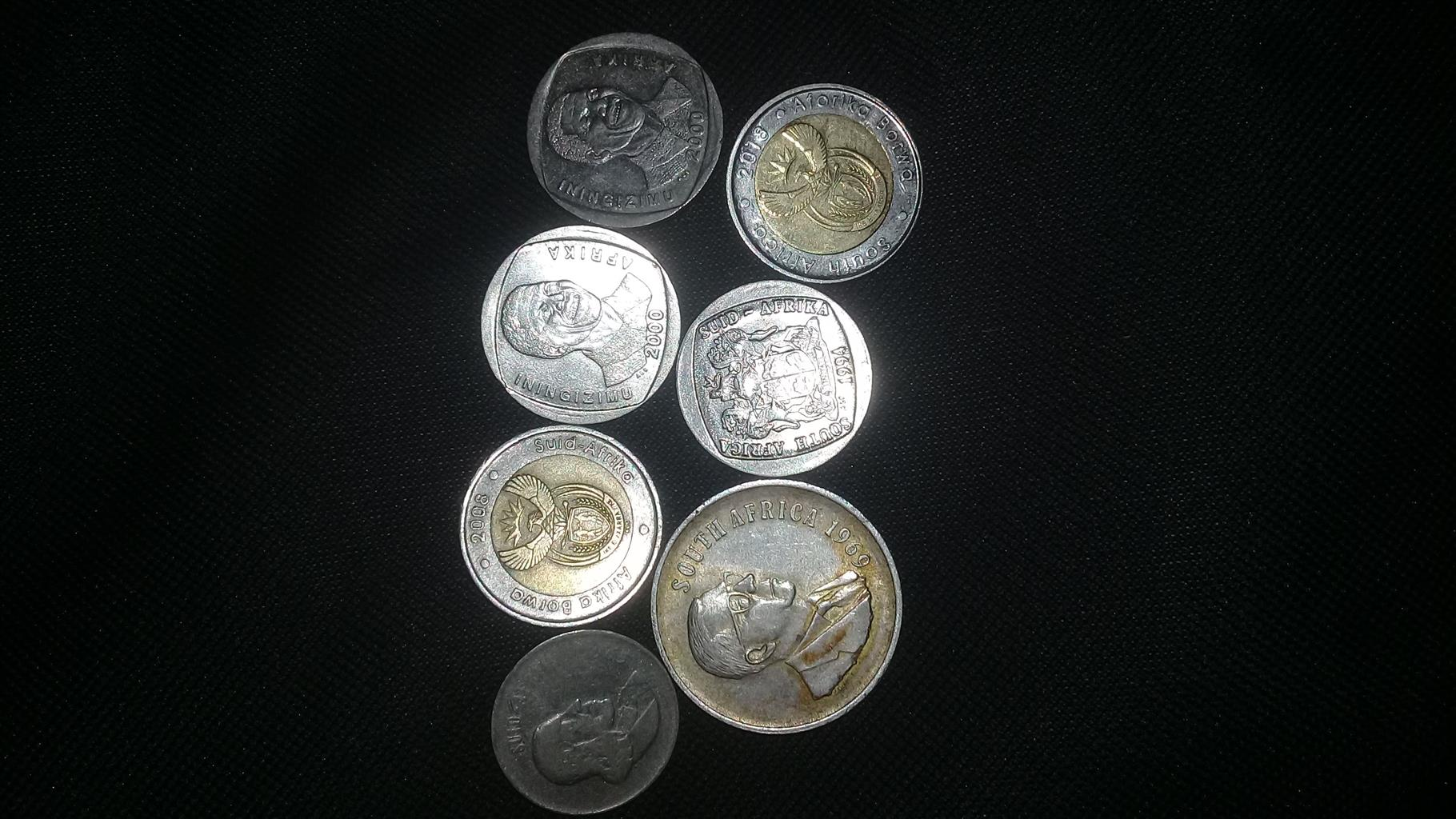 Mandela R5 coins