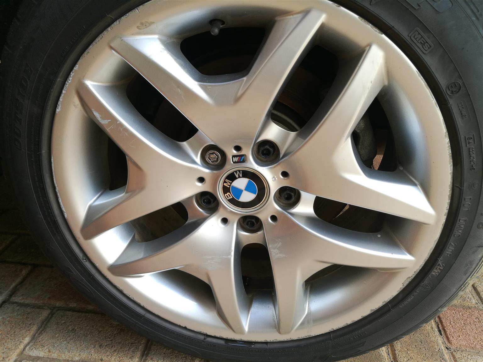 18 Inch Rims And Tires >> 2 X Bmw 18 Inch Rims And Tyre For Sale