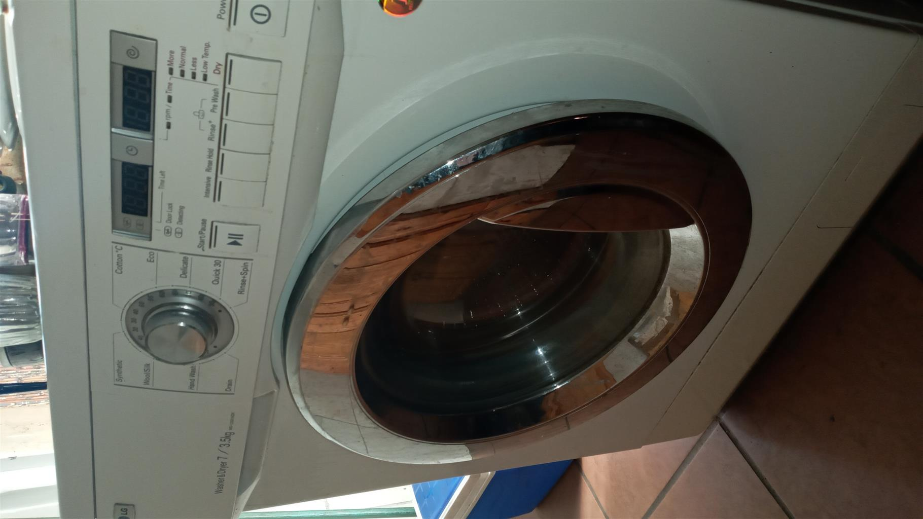 LG washer and dryer in one