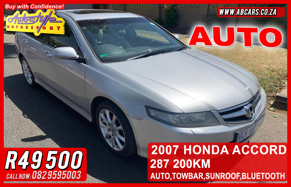 2007 Honda Accord 2.0 Executive automatic