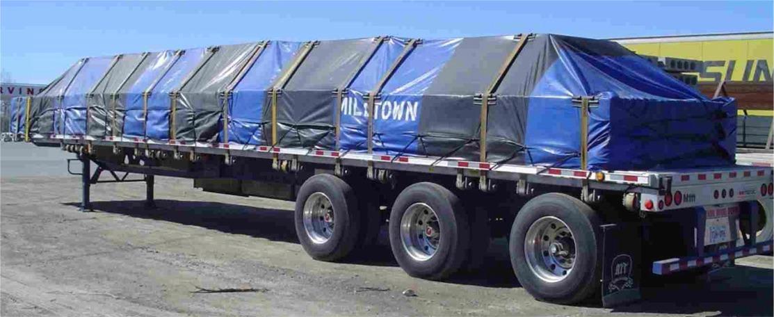 Flat Deck Tarpaulins for sale