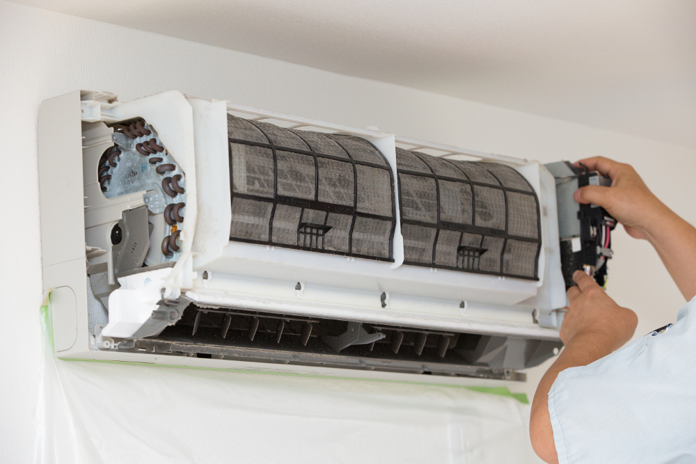 MAINTAINANCE AND SERVICING OF AIRCONS