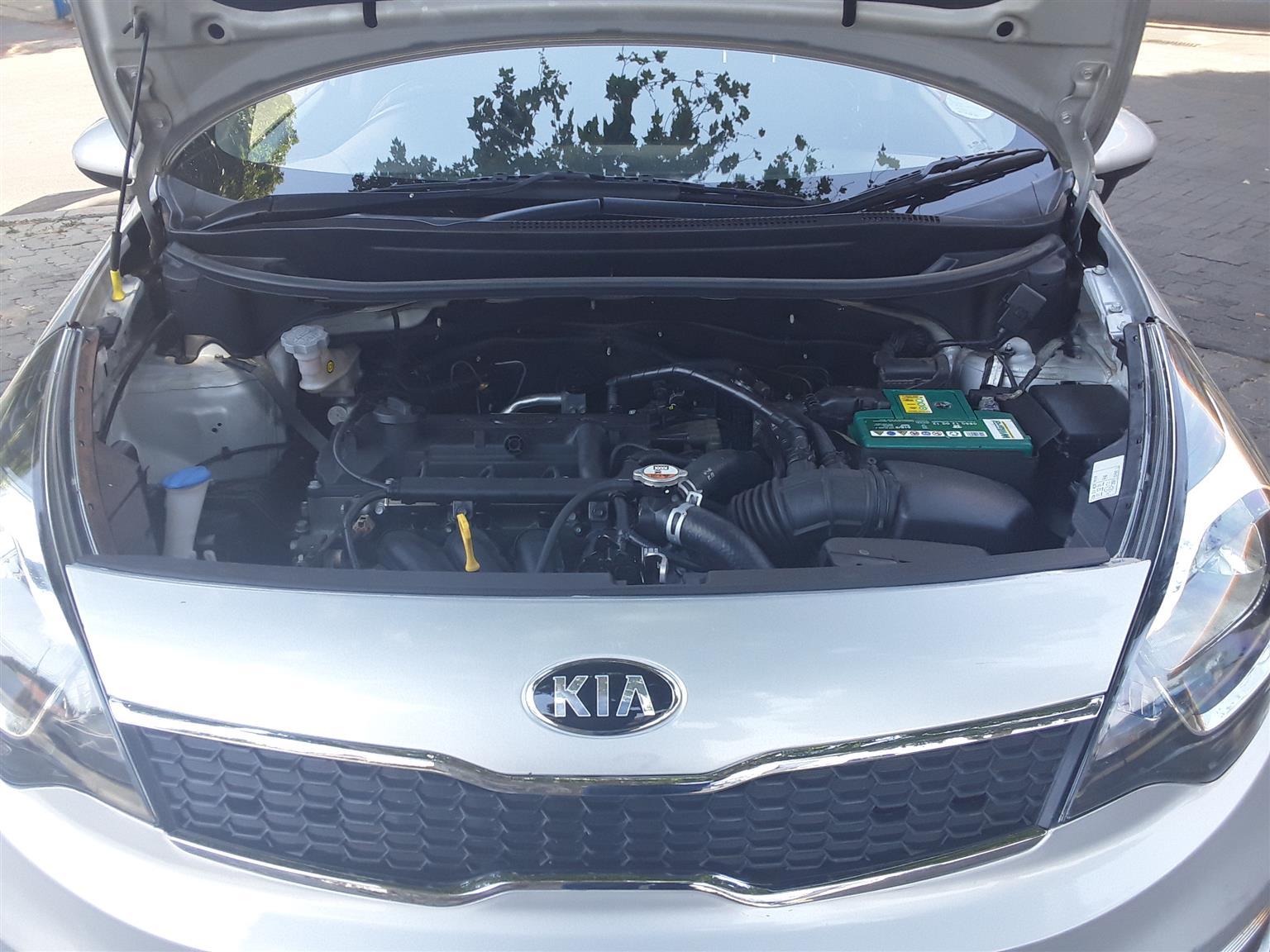 2016 Kia Rio sedan 1.2
